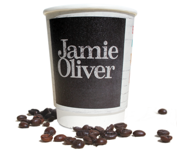 printed paper cups for takeaway coffee business small quantities