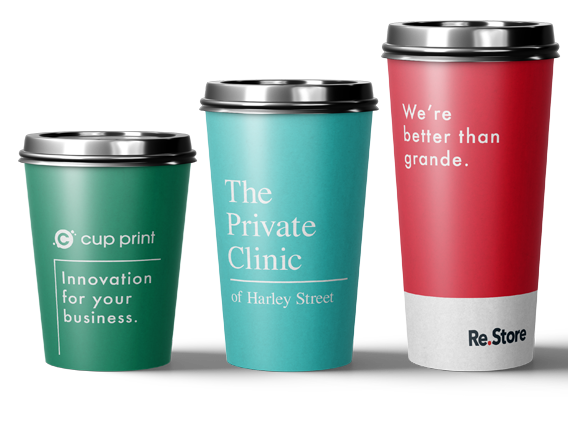 printed paper cups branding advantage