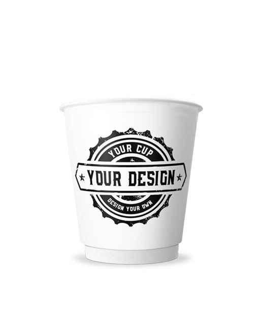 8 oz Double Wall Paper Cup