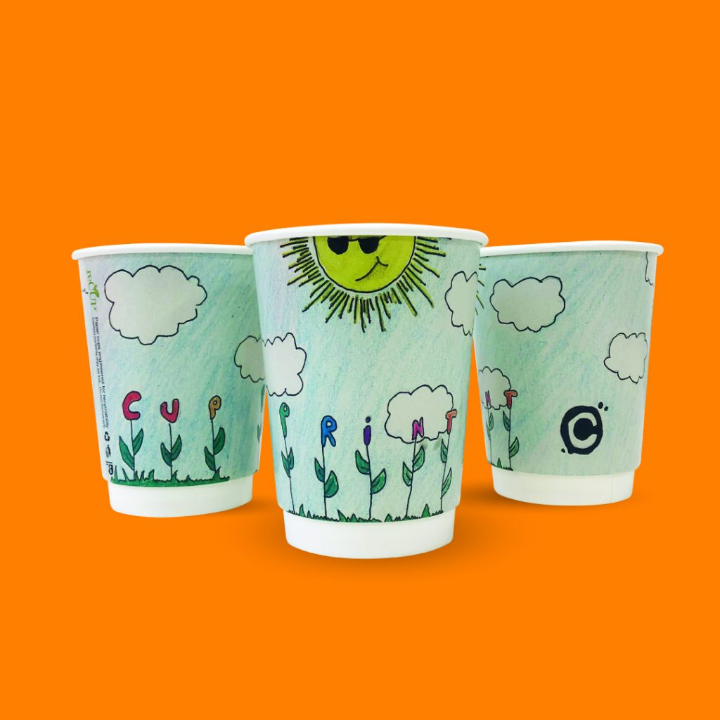 CupPrint Design a Recyclable Paper Cup Competition Winning Design