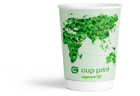 Compostable paper cup