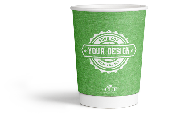 The first and only certified recyclable paper coffee cup