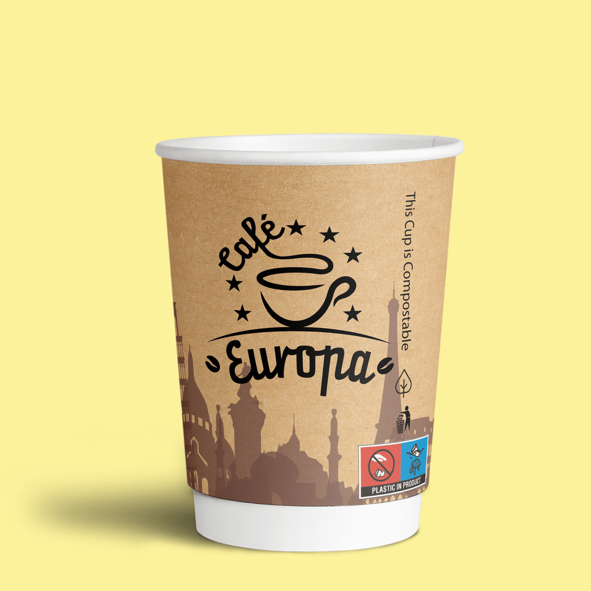 Image for a blog about European Single-Use Plastic Directive Paper Cups Turtle Logo Labelling Requirements and Drinks Cups Regulations in Ireland